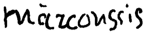 Signature Louis Marcoussis