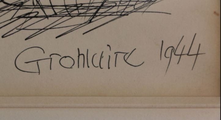 Signature Marcel Gromaire