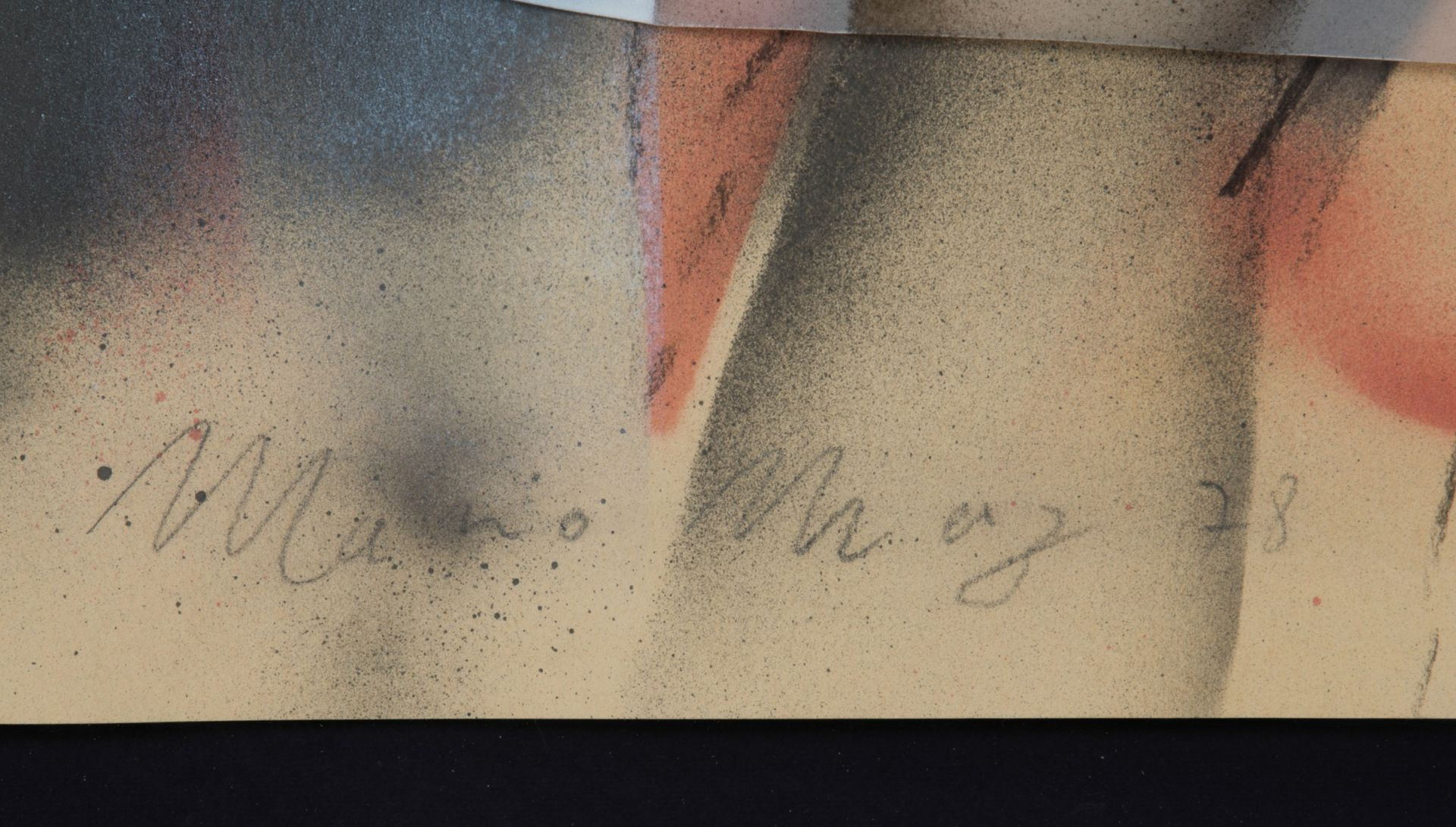 signature Mario MERZ