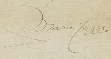 Signature Mario Tozzi