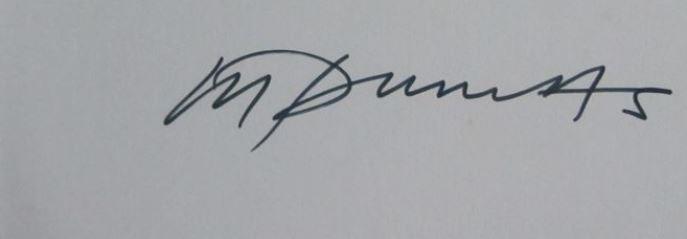 Signature Marlene Dumas