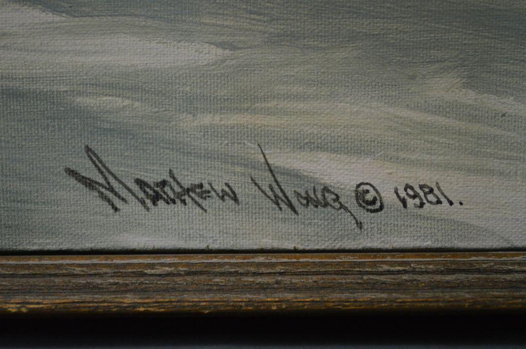 Signature Matthew Wong