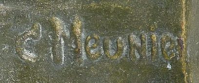 signature constantin meunier
