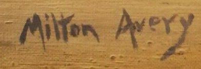 signature milton avery