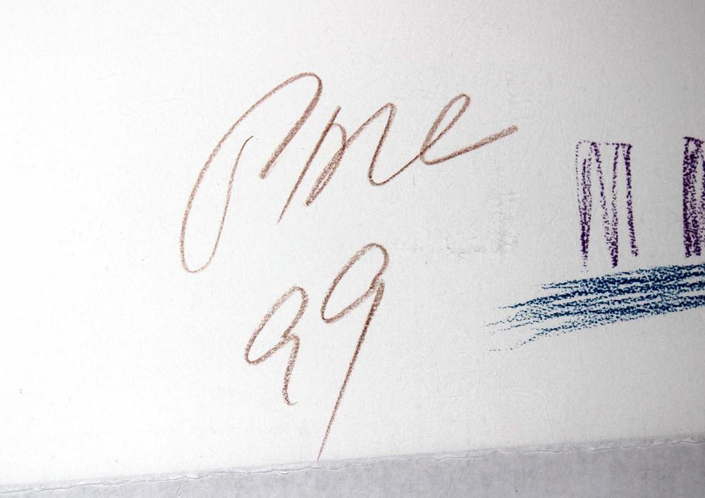 Signature Nam June Paik