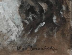 Signature Olga Boznanska