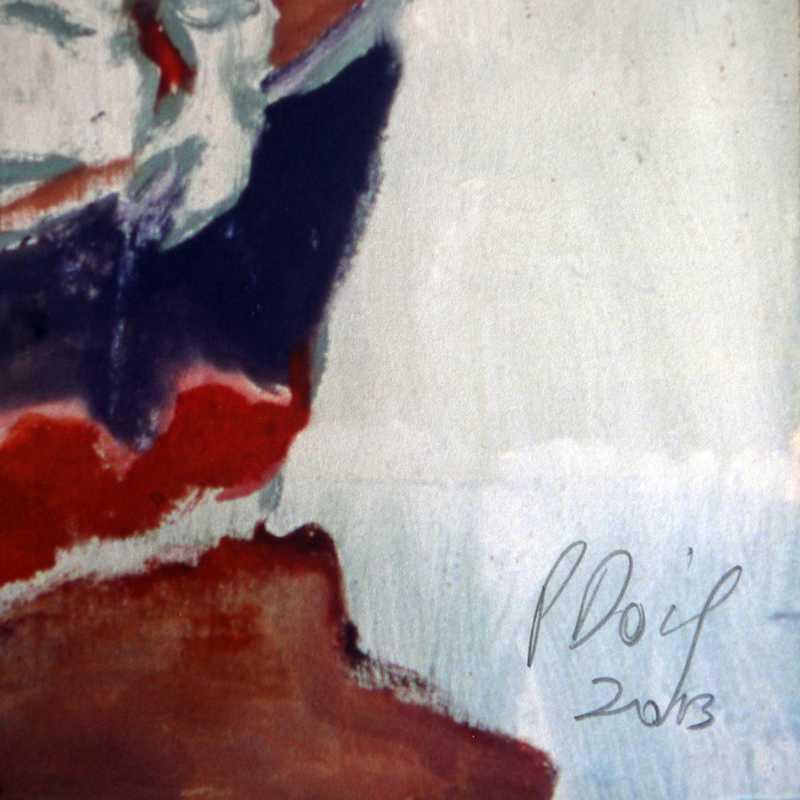 Signature Peter Doig