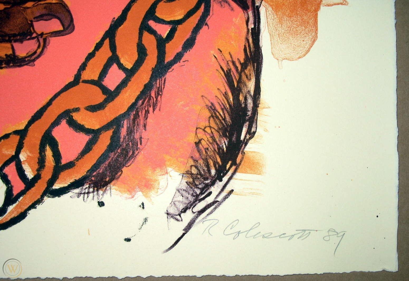 Signature Robert Colescott