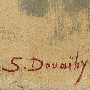 signature Saliba DOUAIHY