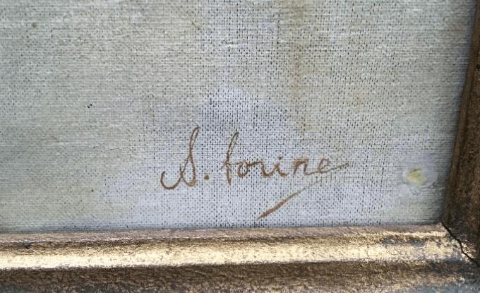 Signature Savely Abramovitch Sorine