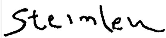 Signature Théophile-Alexandre Steinlen
