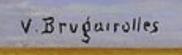 Signature Victor Brugairolles
