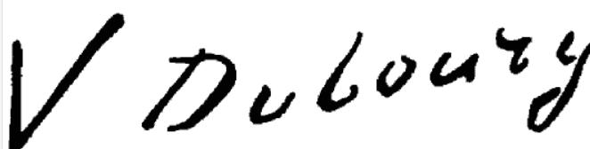 Signature Victoria Fantin-Latour