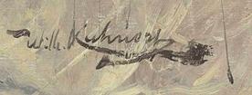 Signature Wilhelm Kunhert