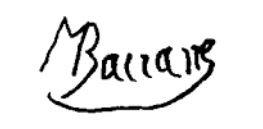 Signature Marcel Bouraine