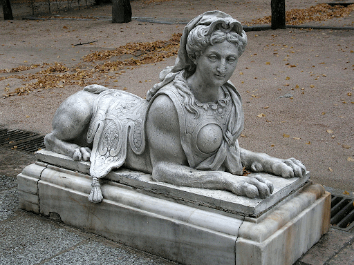 Sphinge Palais de la Granja