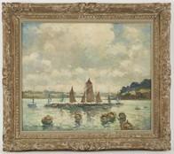peinture Marcel Parturier