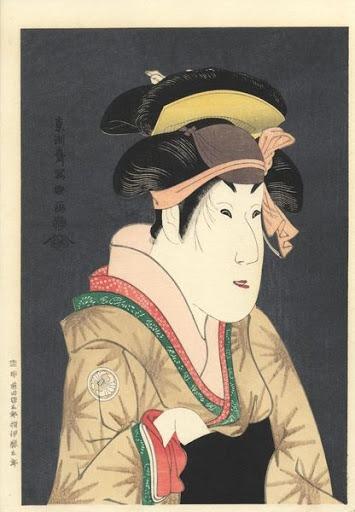 Estampe japonaise Toshusai