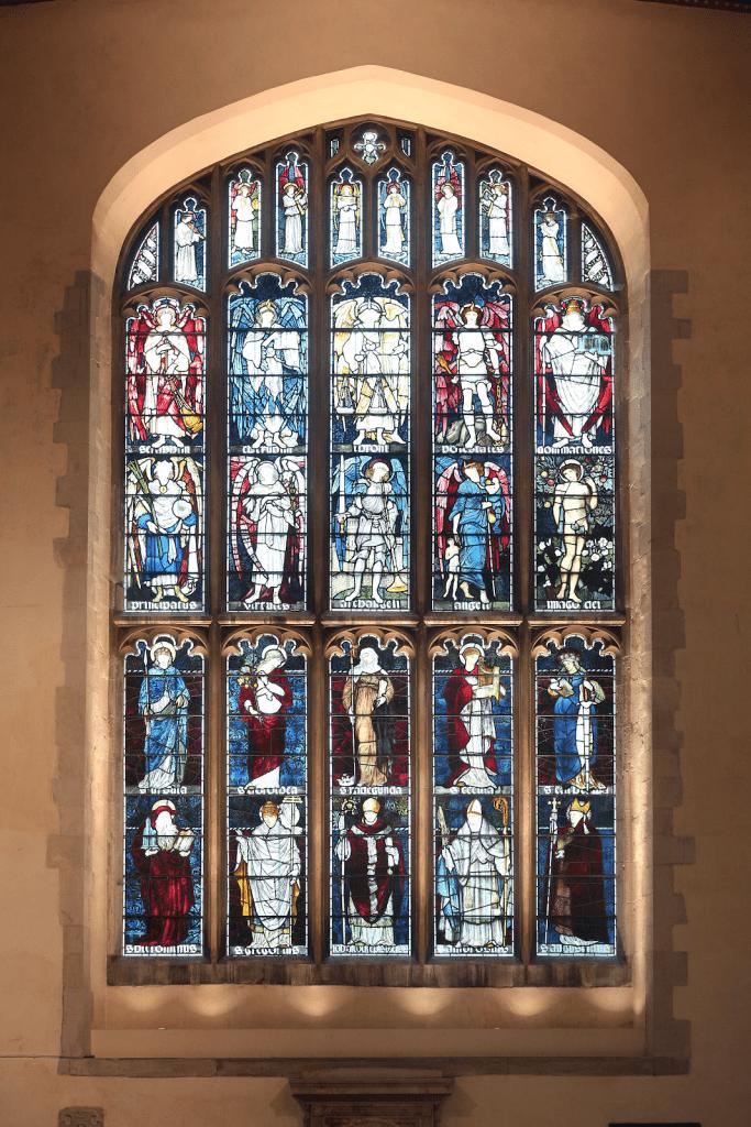 Vitraux chapelle Jesus College Cambridge
