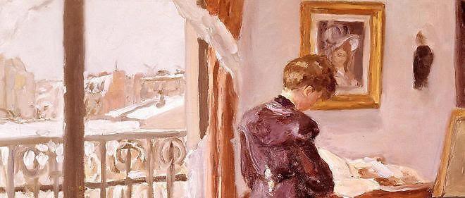 peinture Jour d'hiver (1905)