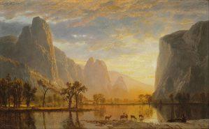 Yosemite Valley, Yosemite Park - Albert Bierstadt