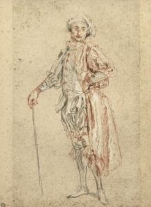 Dessin Watteau