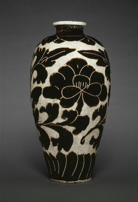 Vase cizhou, dynastie Song