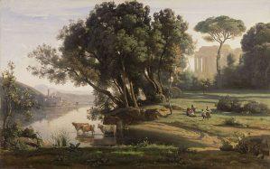 Camille Corot, Site italien