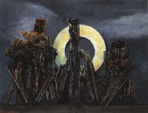 Max Ernst, La grande forêt