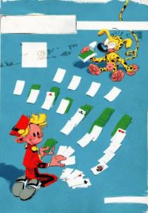Oeuvre Couverture originale du Journal de Spirou n°98 par André Franquin