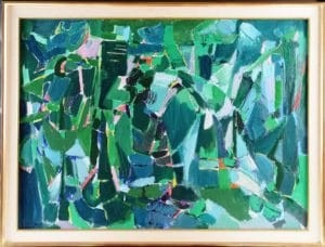 "Oeuvre ""Paysage"" d'André Lanskoy"