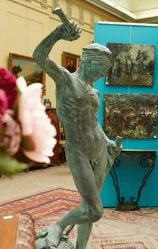 "Oeuvre ""Sculpture"" d'Antonin Mercié"