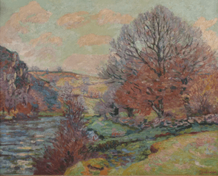 """Oeuvre """"Toile"""" d'Armand Guillaumin"""