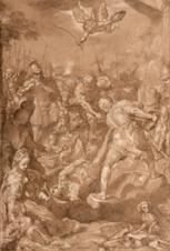 "Oeuvre ""Le martyre de Saint Vital"" de Federico Barocci"