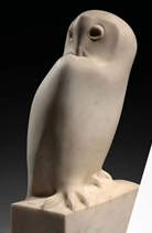 Grand-Duc en marbre blanc
