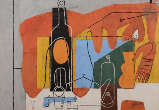 """Oeuvre """"Chez soi ou Le Soir"""" de Le Corbusier"""