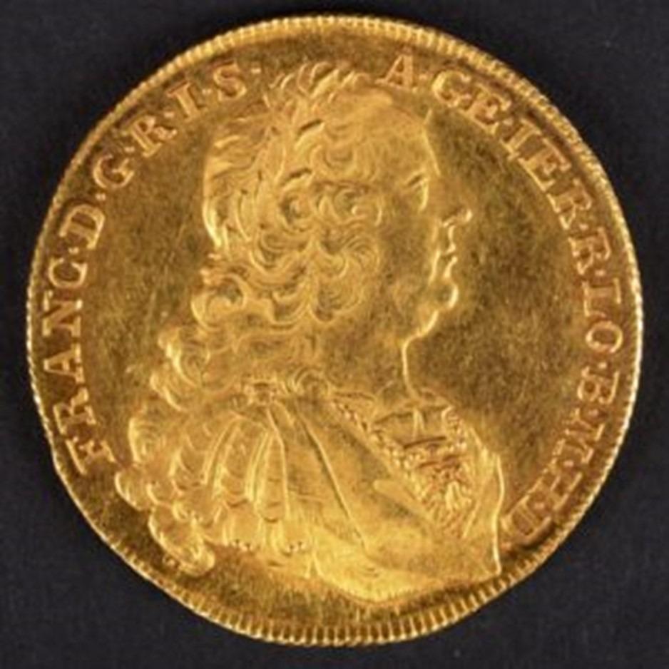 """Oeuvre """"Médaille en or de François Ier"""""""