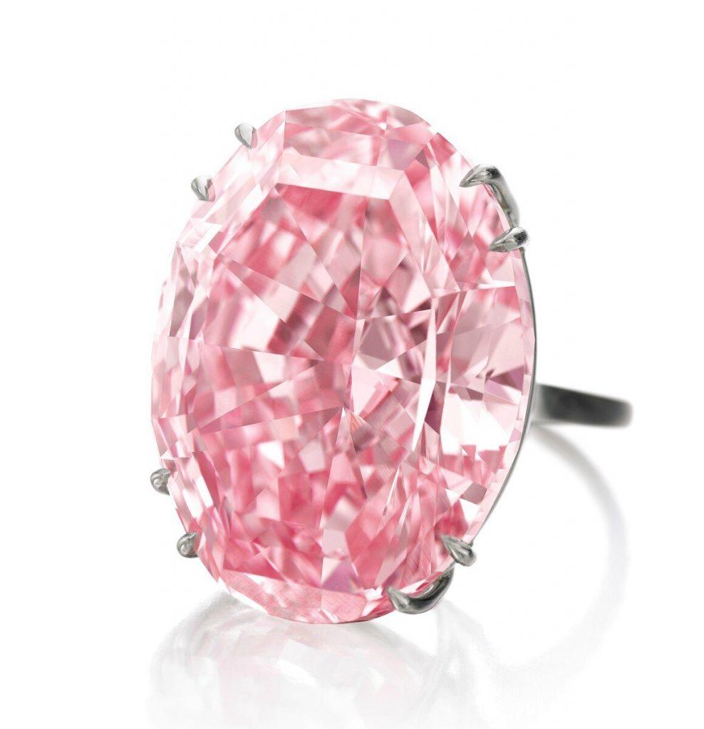 Bague Pink Star
