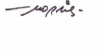 Signature Maurice de Bévère