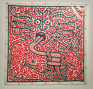 expertise keith haring tapisserie