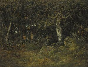 Théodore Rousseau, Le chêne de roche