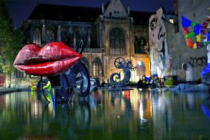 Nike de Saint-Phalle & Jean Tinguely, Fontaine Stravinsky