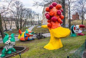 Niki de Saint-Phalle & Jean Tinguely, Paradis fantastique