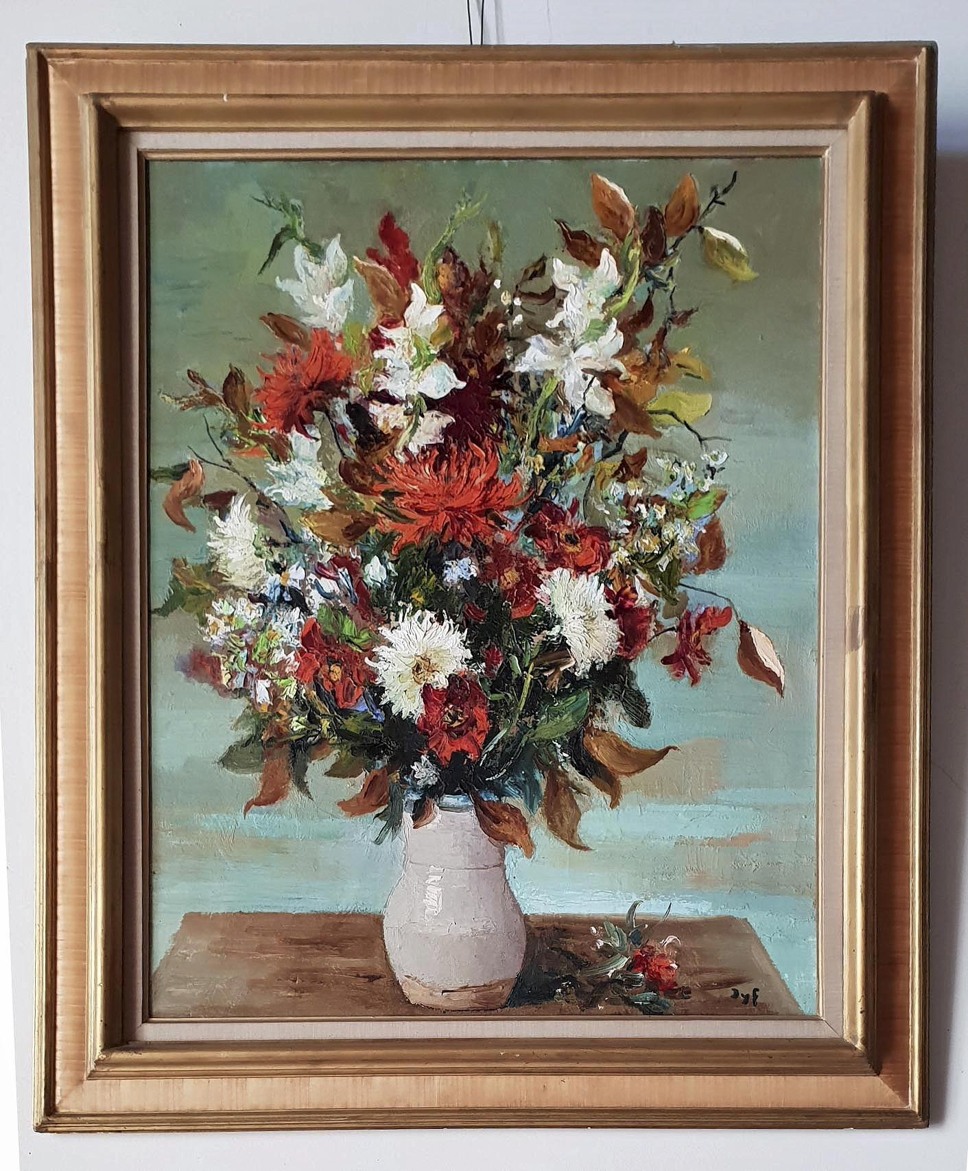 Bouquet de fleurs dans un vase | Demandez une estimation